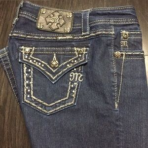 Miss me easy boot jeans size 26L
